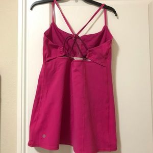 lululemon athletica Tops - Lululemon Hot Pink Strappy Tank